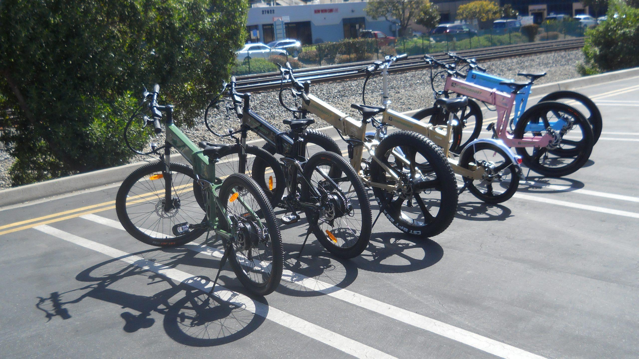 Compuboost Electric Bike Lineup